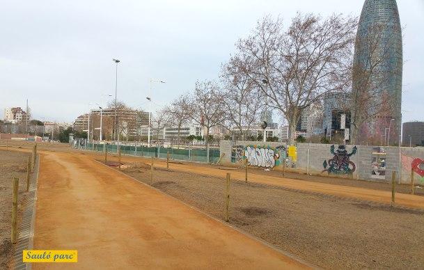 Actuació àrid Sauló Parc - Plaça les Glòries - Barcelona - Massachs Obres i Paisatge