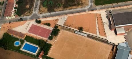 SAULO PARC - Zones esportives, camp de futbol