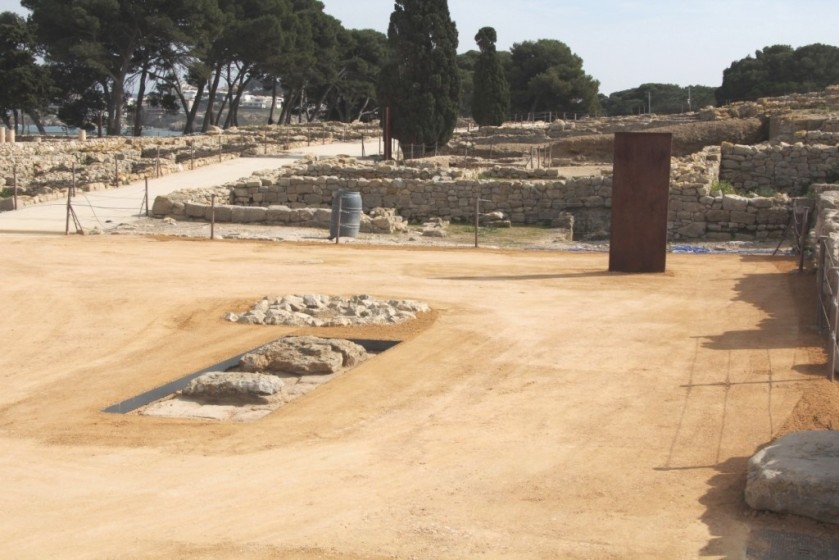 Àrid Sauló Parc a les ruines arqueologiques de Empúries 2